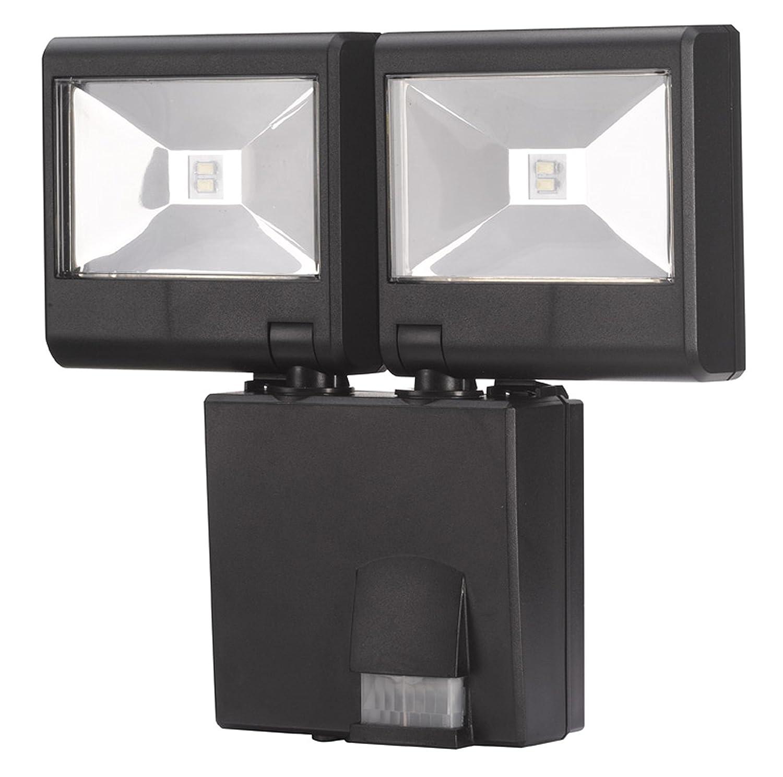Altuna/Bikain U2013 Double Lamp With Motion Detector.: Amazon.co.uk: DIY U0026 Tools