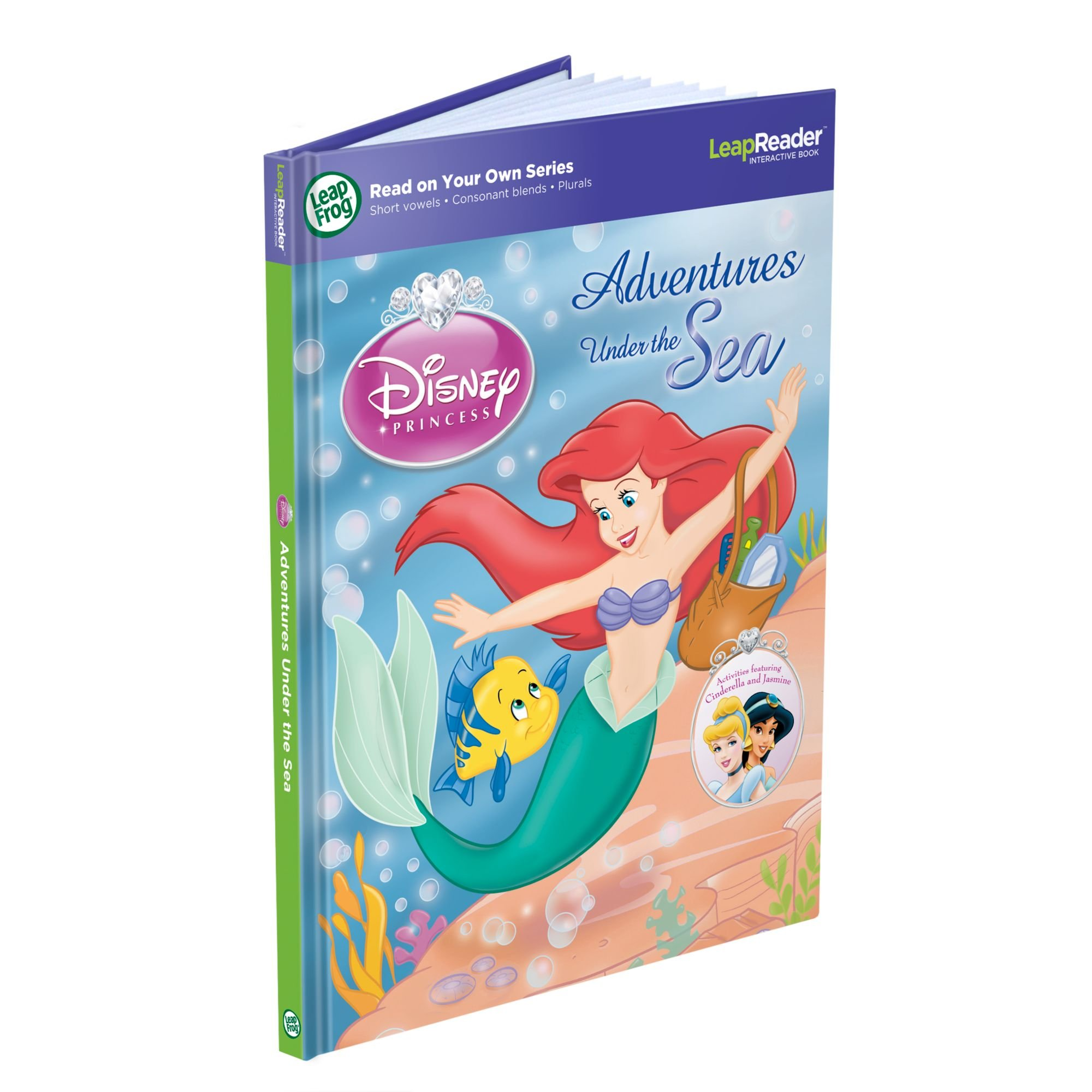 LeapFrog LeapReader Book: Disney Princess Adventures Under the Sea (works with Tag)