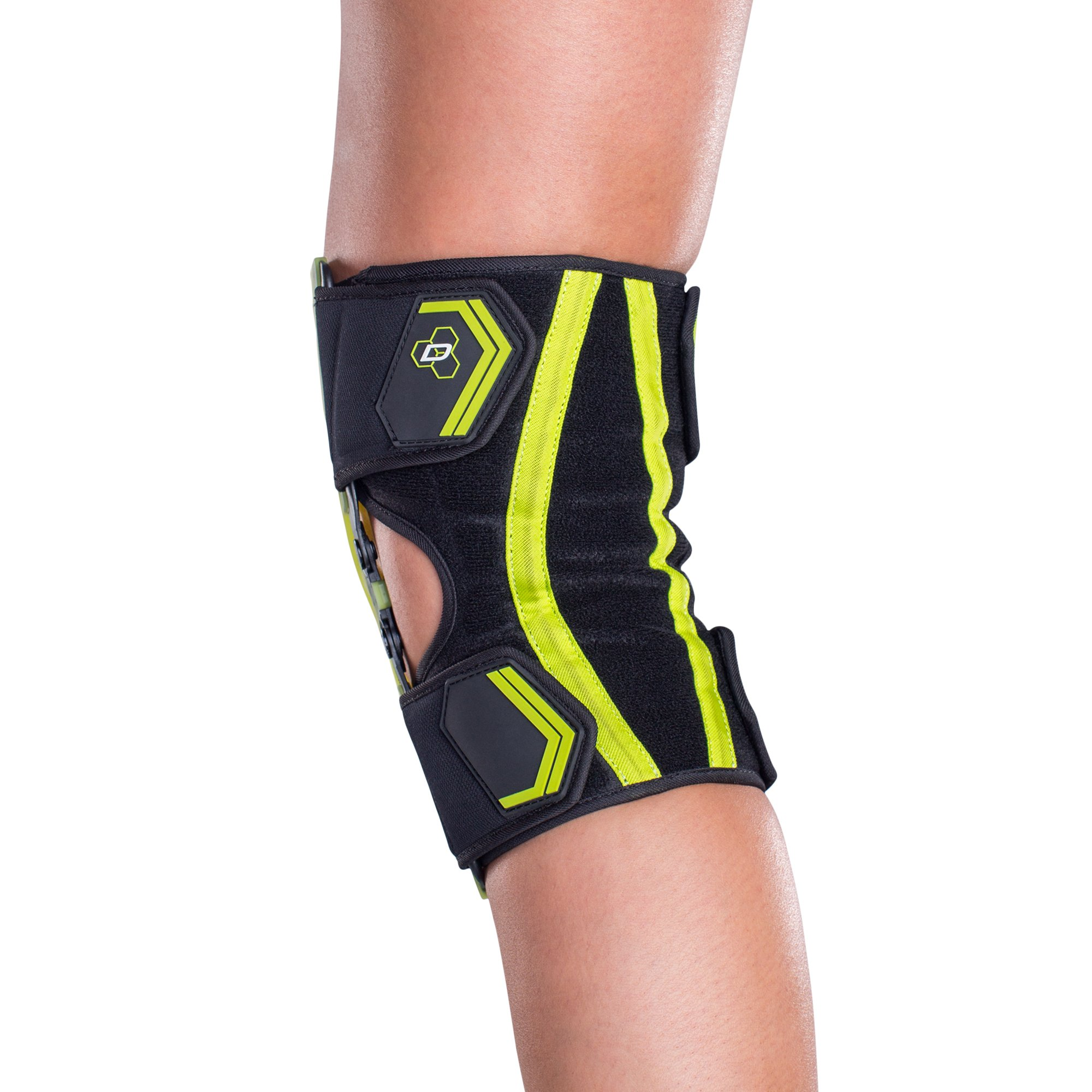 3d26f10f89 DonJoy Performance WEBTECH Knee Support Brace with Compression Undersleeve  - DP151KB01-SGR-M-P < Knee Braces < Health & Household - tibs