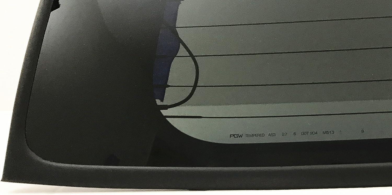 NAGD Compatible with 2000-2006 GMC Yukon//Yukon XL//Yukon Denali Heated Back Window Back Glass Driver Left Side USA
