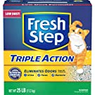 Fresh Step CAT LITTER 261213 Triple Action Scooping Litter, 25 -Pound