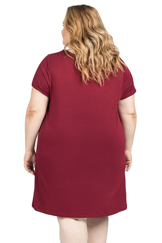 Savi Mom The Original Maternity Nursing//Breastfeeding Nightgown Dress Plus Size