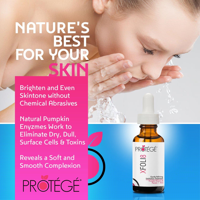 Protege Beauty XFOLI8 mascarilla exfoliante a la enzima de calabaza 30 ml