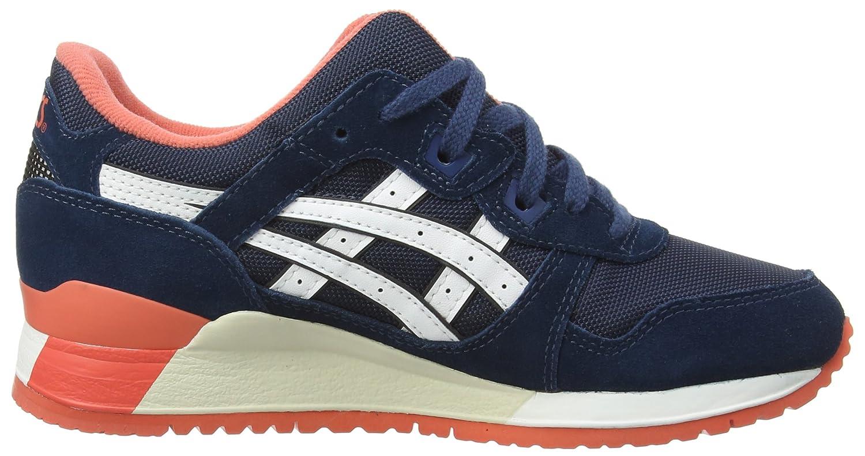 Gel De Lyte Asics Iii Chaussures Basses, Unisexe, Bleu (poseidon / Blanc 5801), Taille 4 Uk Eu 36,5
