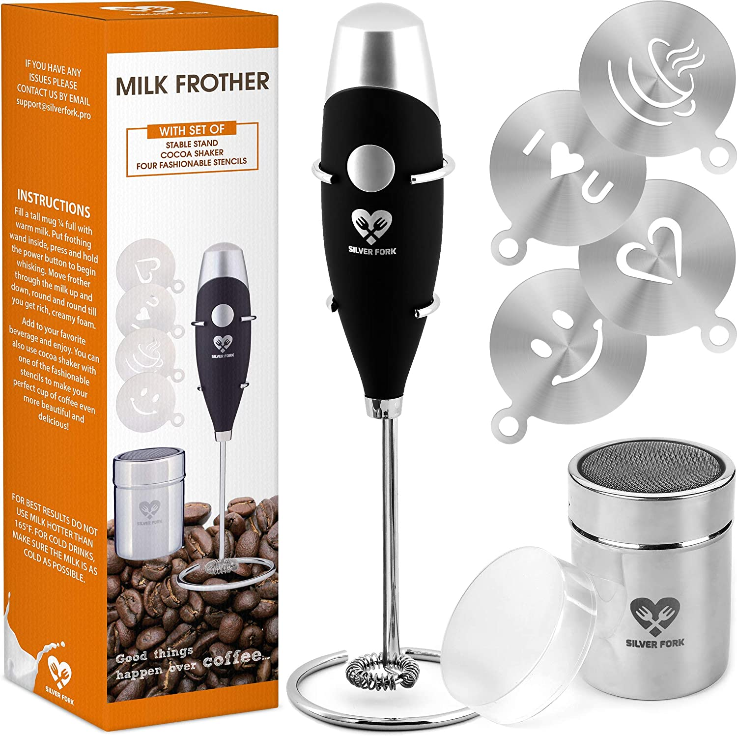 High Powered Milk Frother COMPLETE SET