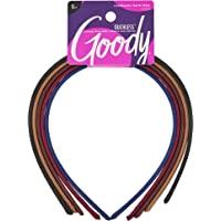 Goody Faixa de cabelo feminina clássica de tecido, 5 unidades