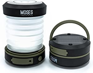 Moses Industries Solar Camping Lantern