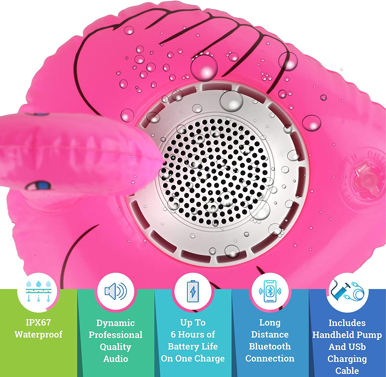 Caleo Inflatable Floating Bluetooth Speaker