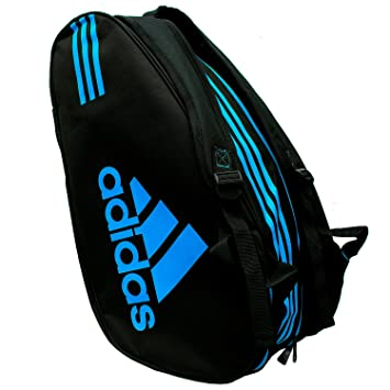 adidas Control Padel Racket Bag Black Blue 2018  Amazon.co.uk ... 3750a501ec750