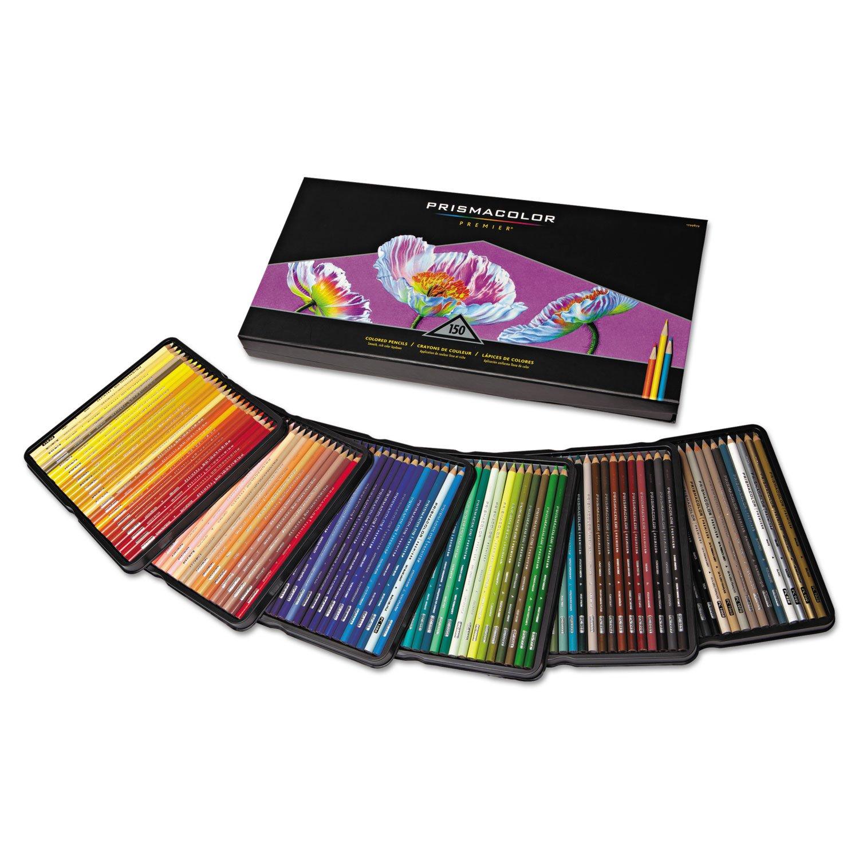 Premier Colored Pencil, 150 Assorted Colors/set