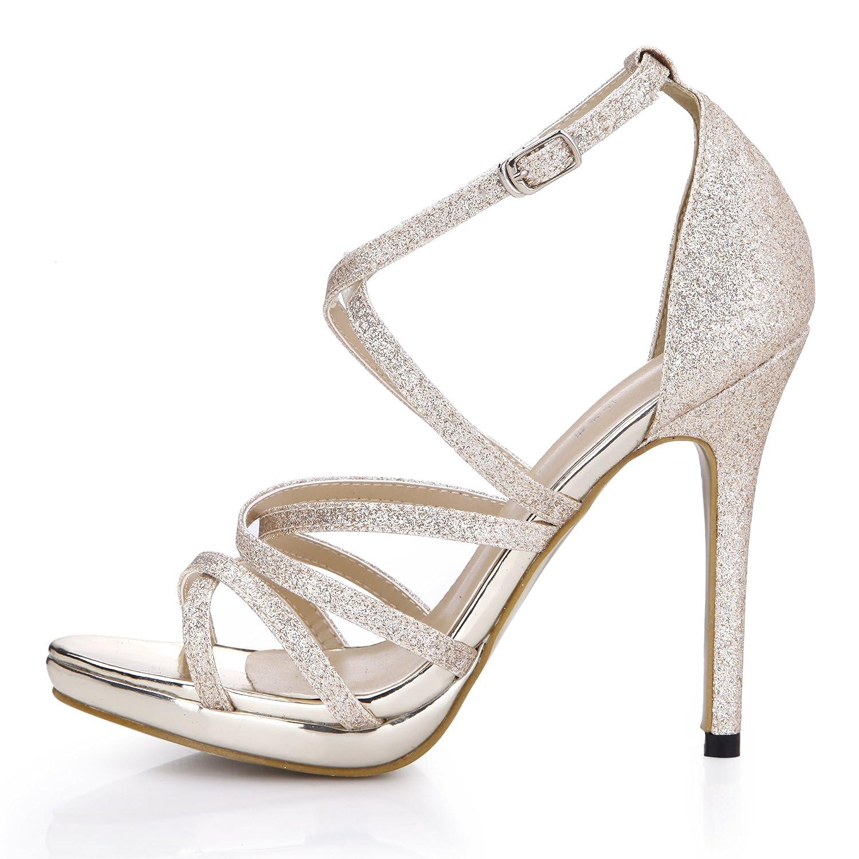 Sandales Gold femme nuit à annuelle de printemps B00IJNL1GC à haut talon chaussures fine fine gold avec chaussures femmes Gold 6390cda - therethere.space