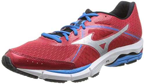 Mizuno Wave Ultima 6, Men's Running Shoes, Chinese Red/Silver/Diva Blue