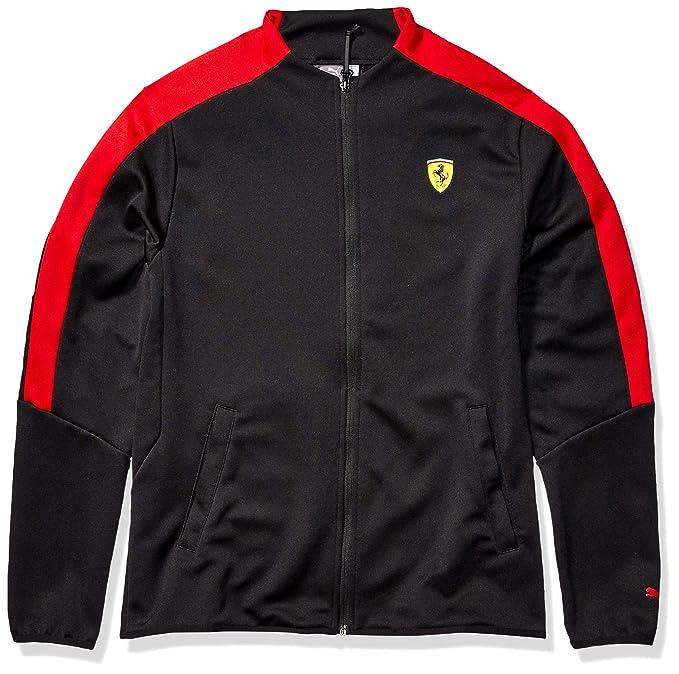 PUMA Men\u0027s Scuderia Ferrari T7 Track Jacket at Amazon Men\u0027s