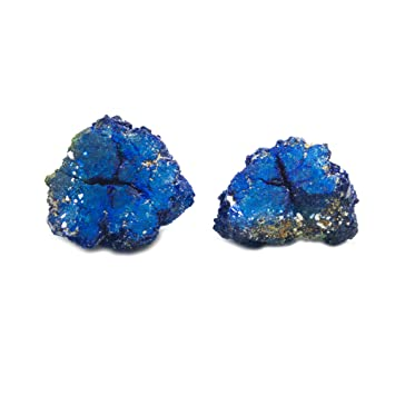 Amazon com : Azurite Geode Pair : Everything Else