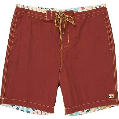 0f8b8b1417 Amazon.com: Billabong Men's All Day Lo Tides Boardshorts Brick 34 ...