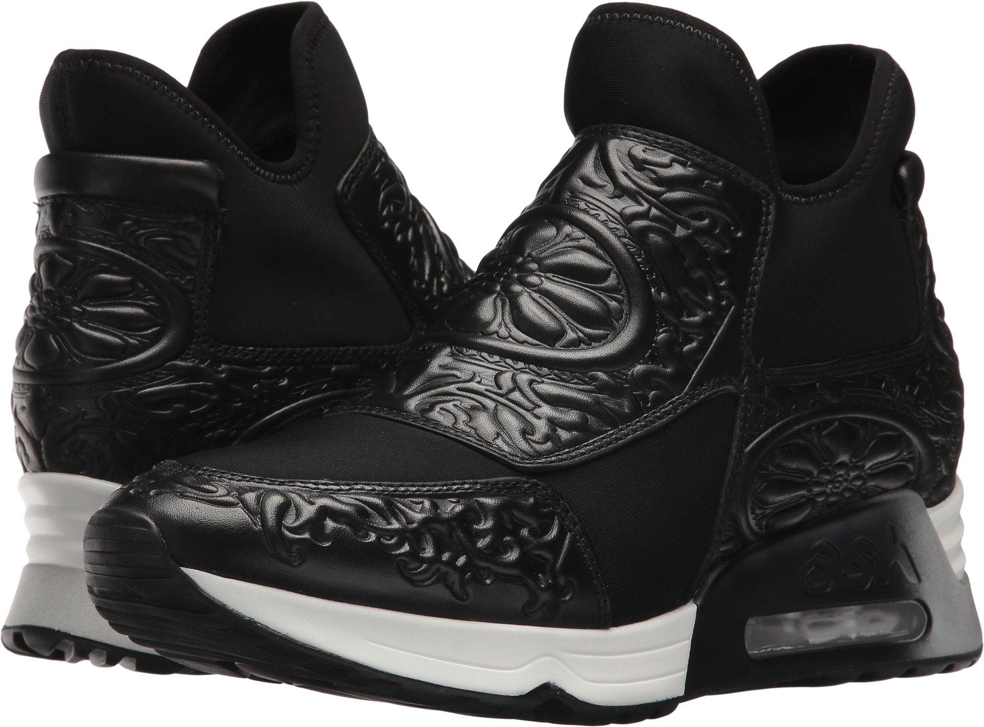 ASH Women's Lexi Black/Black Nappa Calf Lycra Neoprene 38 M EU