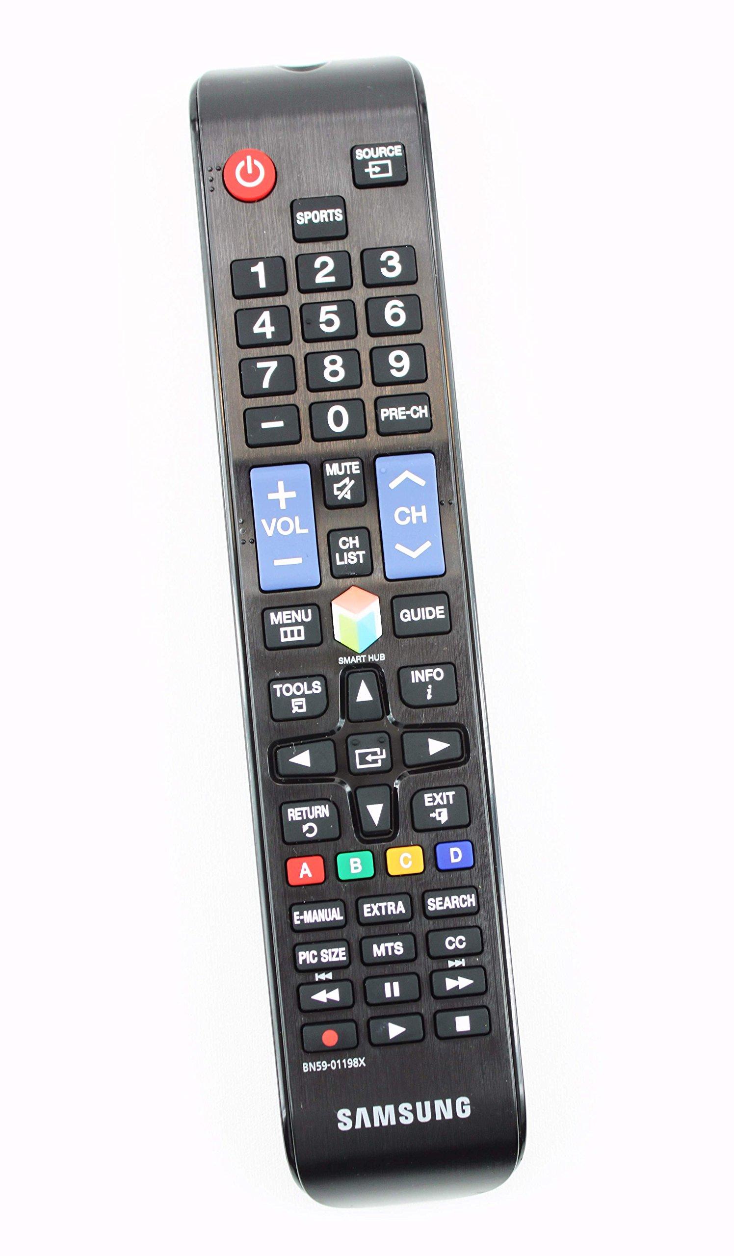 Control Remoto Samsung BN59 01198X LCD TV UN40JU6500F UN4...