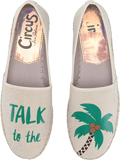 0469addf0bbd5 Circus by Sam Edelman Women s Leni-36 Ivory (Talk to The Palm) Two