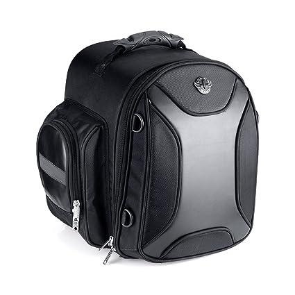 c3d0c2bc564 Amazon.com: Viking Bags Dagr Motorcycle Sissy Bar Bag: Automotive
