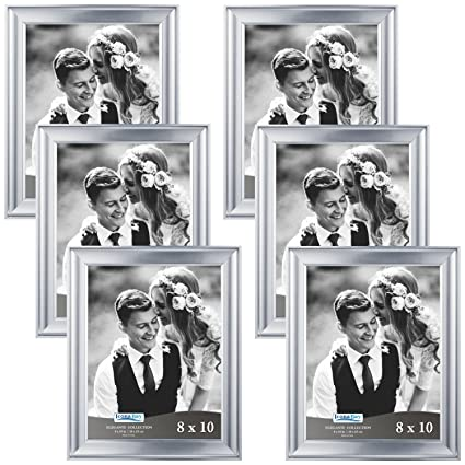 Amazon.com - Icona Bay 8 10 Picture Frames (8x10, 6 Pack, Silver ...