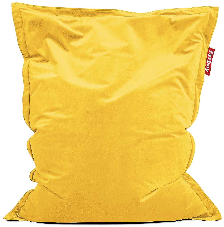 Fatboy® original Slim Velvet Maize Gelb