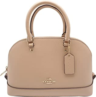 Coach Crossgrain Leather Sierra Satchel Beechwood: Handbags ...