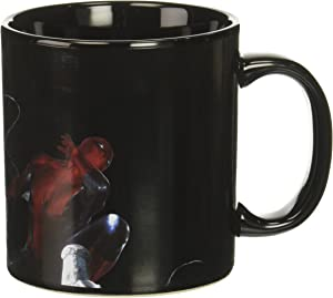 Vandor Marvel Venom Heat Reactive ceramic Mug, 20 oz, Black