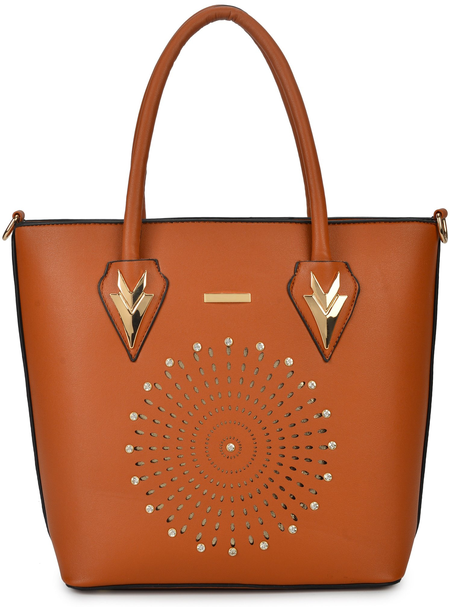 Women Handbag Purse Hobo Faux Leather Messenger Bag Clutch Satchel Bag 3 Piece Gift Set by KasPala (Image #2)