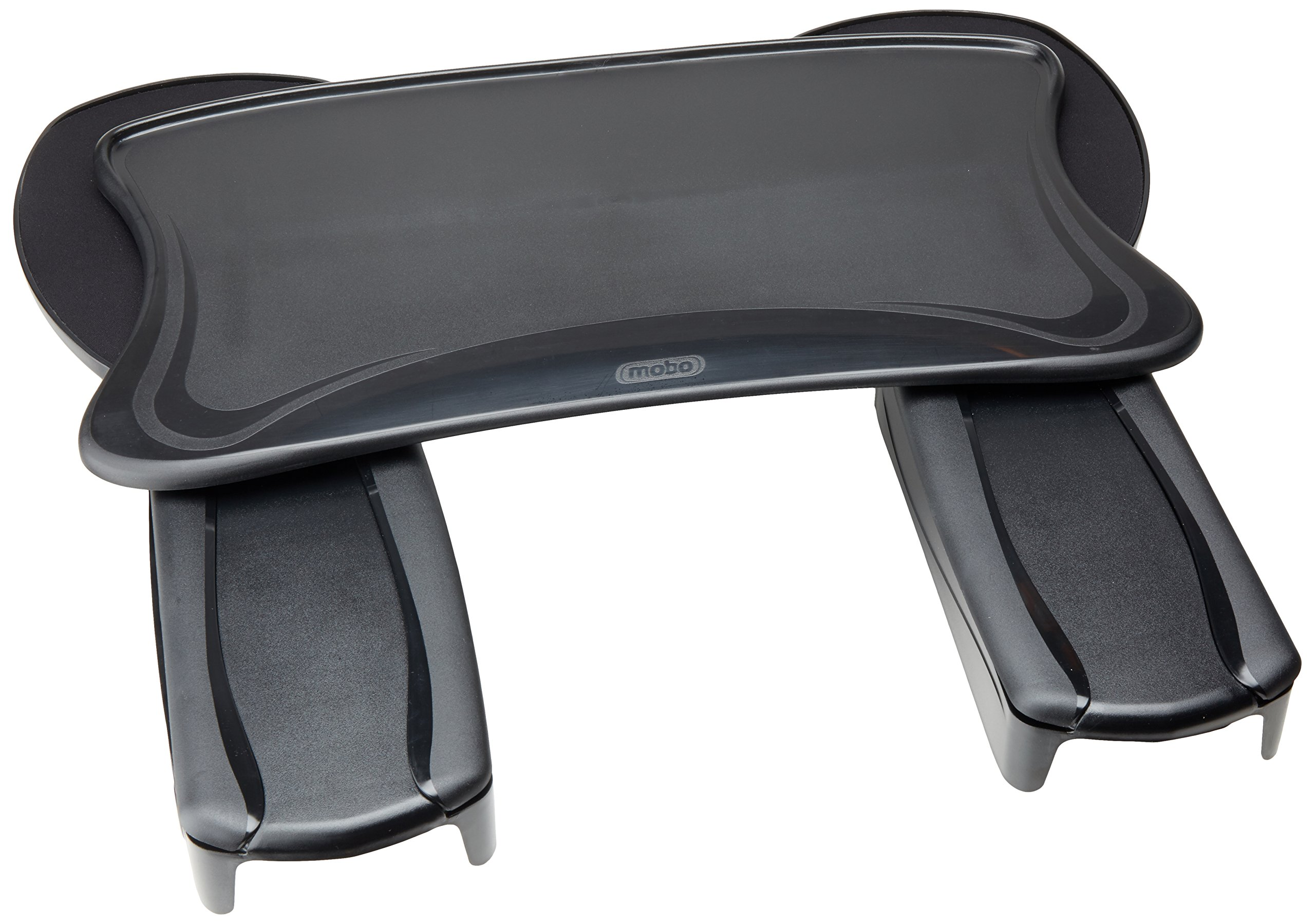 Mobo Chair Mount Ergo Keyboard and Mouse Tray System - 2.5-Inch x 12.5-Inch x 7.5-Inch - Black by Mobo