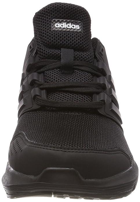 Amazon.com | adidas Galaxy 4 Mens Adult Running Trainer Shoe Black/Black | Road Running