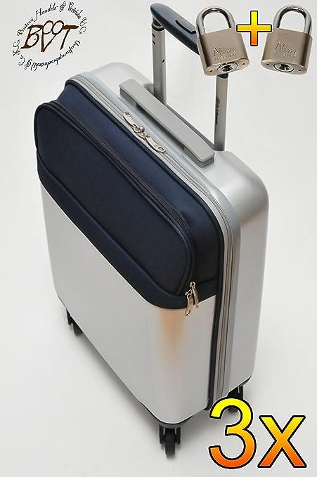 3 x Pilot maletín Juego de Oferta Daypack Maleta de viaje grande con ruedas acabado color