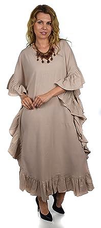 5e58baa2c04 Dare2bStylish Soft Cotton Gauze Long Kaftan Caftan Cover Up Kimono Plus  Sizes