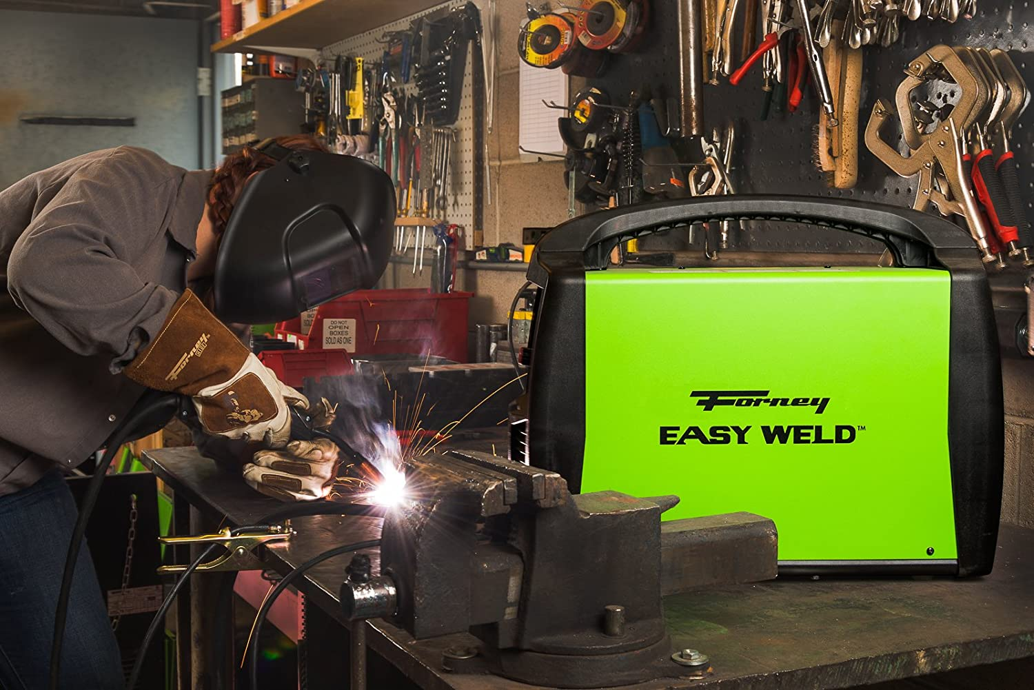 Forney Easy Weld 299 125fc Flux Core Welder 120 Volt 125 Amp Hobart Power Plug 230 Male Plugpin Type 50 Amps Model