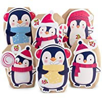 Pajoma Advent Calendar Penguin, 1 x 24 Bolsas