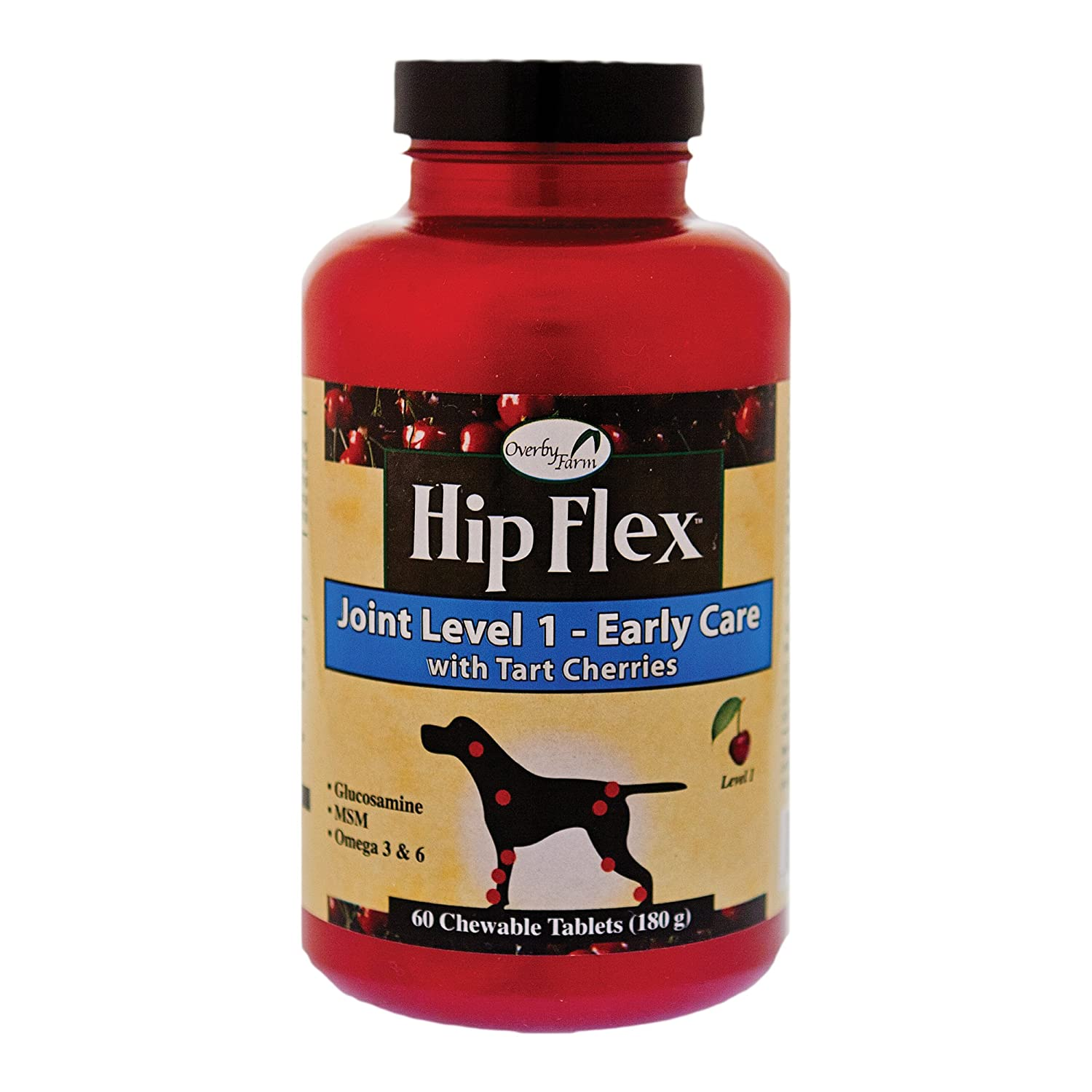 NaturVet Hip Flex Level 1 Early Care Tablets 60 Count for Dogs