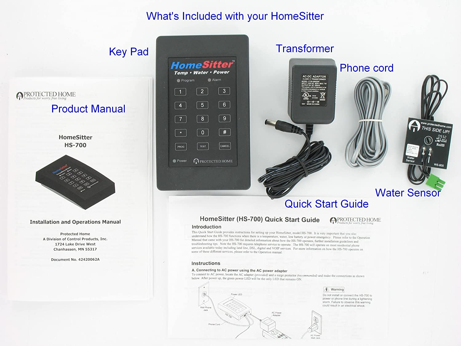 Control Products Freeze Alarma Home Sitter Temperature ...