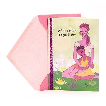Amazon.com : Hallmark Mahogany Mother's Day Greeting Card from ...