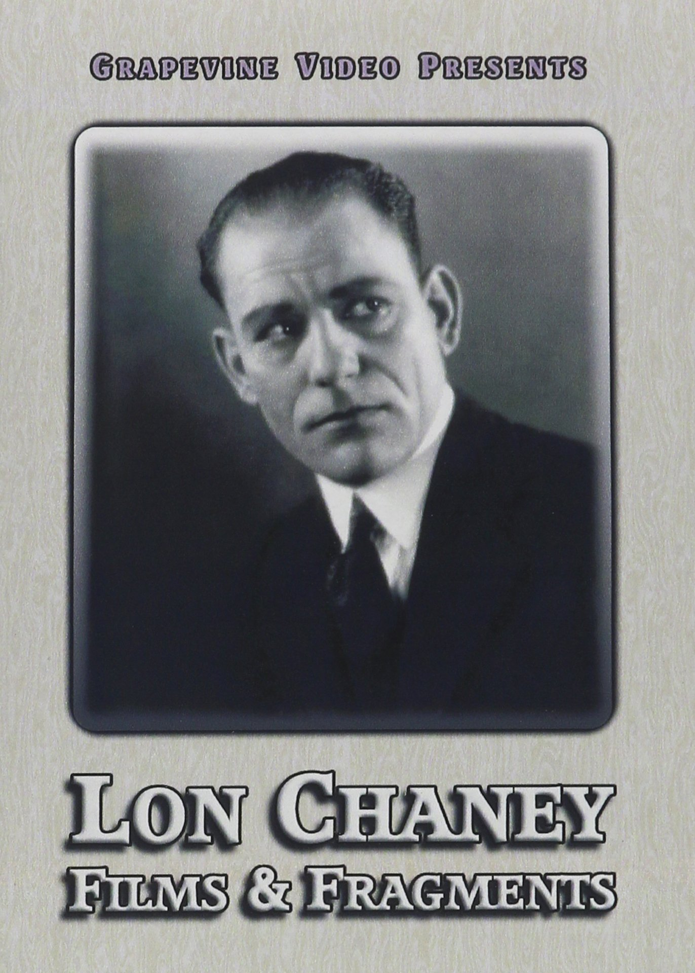 DVD : Lon Chaney Films And Fragments (1914-1922) (Silent Movie)