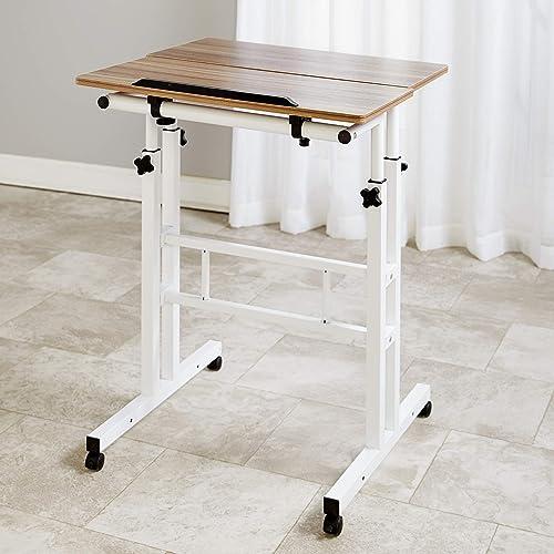 2-Tier Adjustable Height Standing Desk Podium