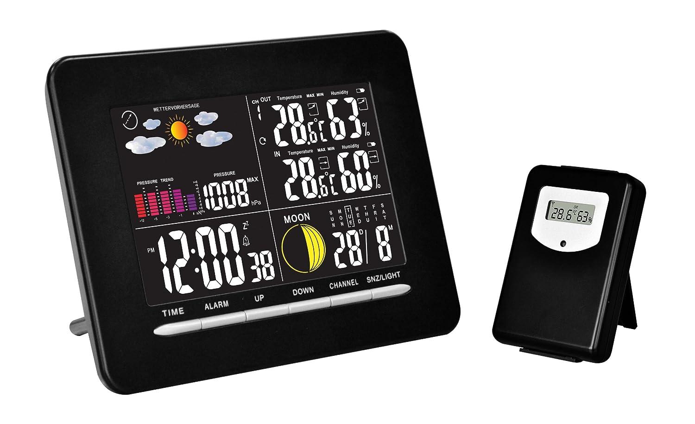 Chacon 54419 - Termostato (pantalla a color), color negro: Amazon.es: Bricolaje y herramientas