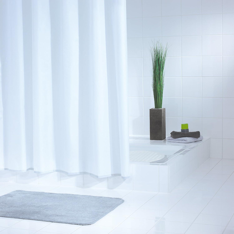 Ridder Standard 314110-350 Shower Curtain 240 x 180 cm with Hanging ...