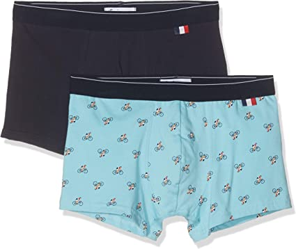 TALLA Medium (Talla del fabricante: 3). Eminence Made In France Bañador (Pack de 2) para Hombre
