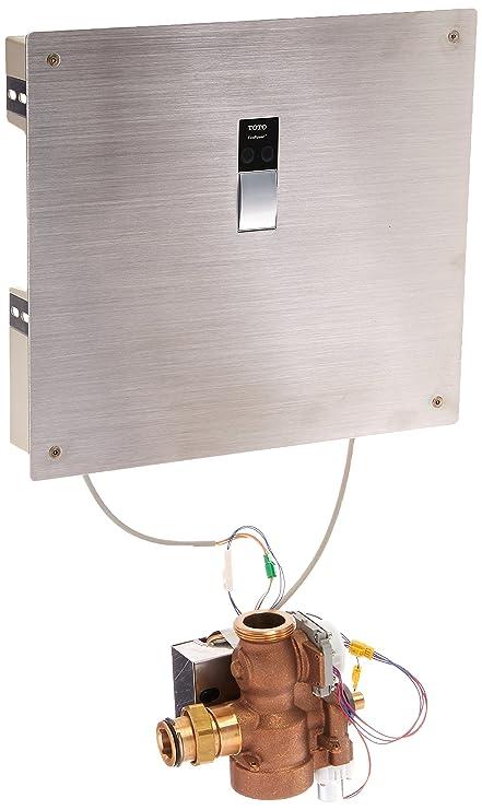 Buy Toto TEU2GN21#SS 14-Inch by 12-Inch Sensor Urinal 1.0-GPF Flush ...
