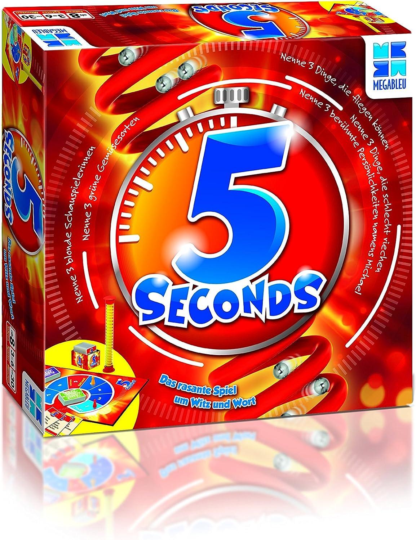 Megableu 5 Seconds - Juego de Mesa: Megableu: Amazon.es: Juguetes y juegos