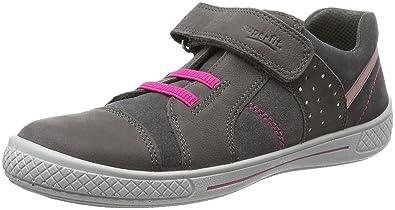 Superfit Tensy, Sneakers Basses Fille - Gris - Grau (Stone Kombi), 25