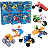Take a part toys DIY Stem Building Blocks 6Boxes, Construction Engineering Toys, Educational Kits for Birthday Party