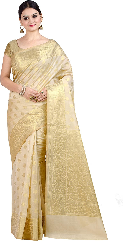 Chandrakala Woven Banarasi Silk Saree