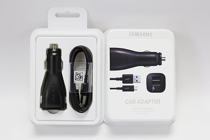 Oficial Original Samsung cargador de coche Dual Puerto de ...