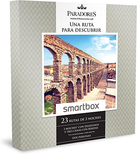 SMARTBOX - Caja Regalo - UNA RUTA PARA DESCUBRIR - 3 noches* con ...