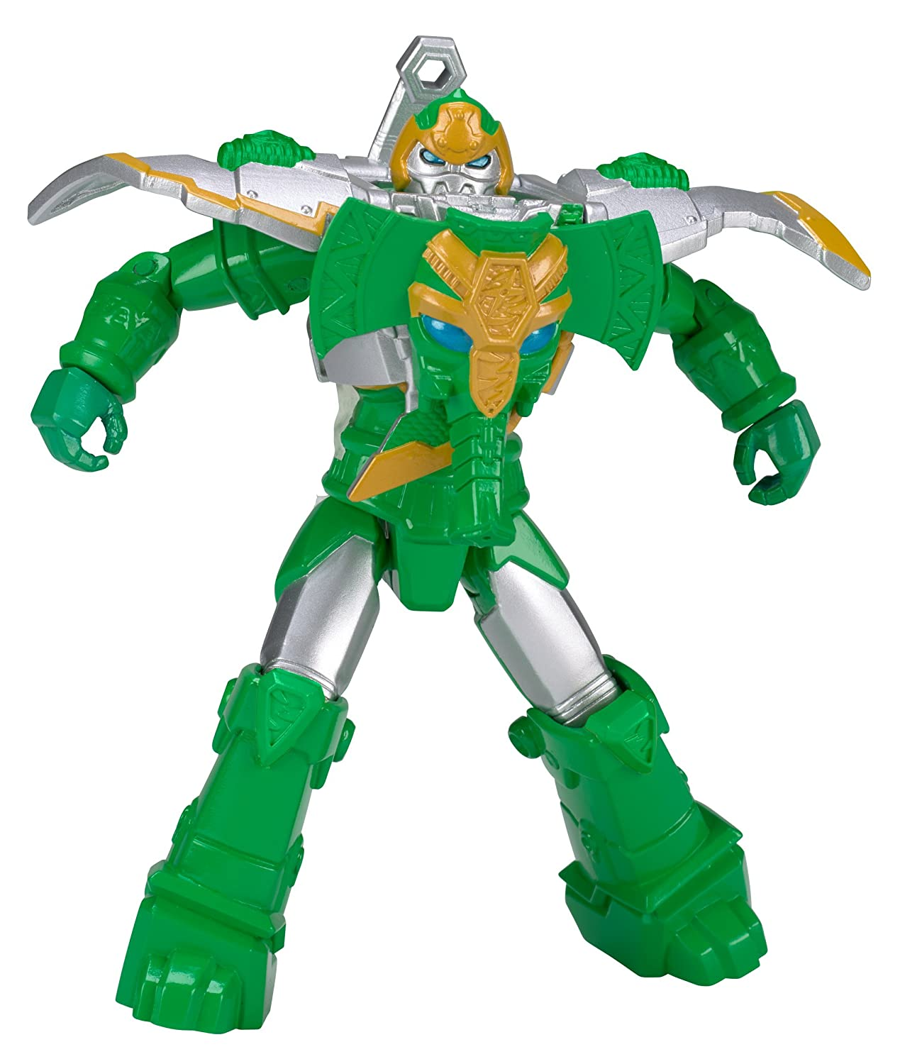 Power Rangers Ninja Steel 5-Inch Armored Rumble Tusk Zord Action Hero Figure